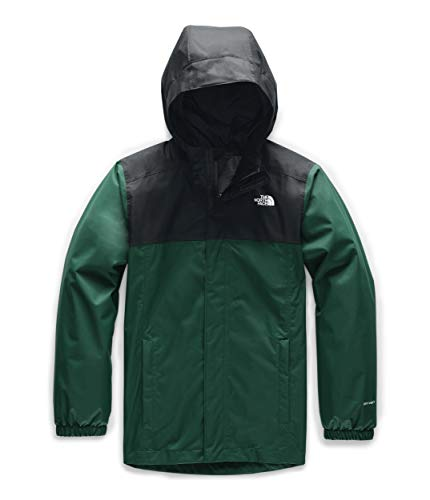 The North Face Boys' Resolve Reflective Jacket, Night Green, 2XS image 1