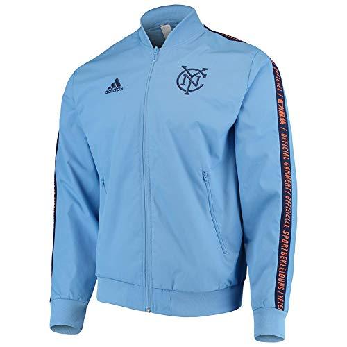 adidas New York City FC Anthem Jacket Official Full-Zip (XX-Large) image 1