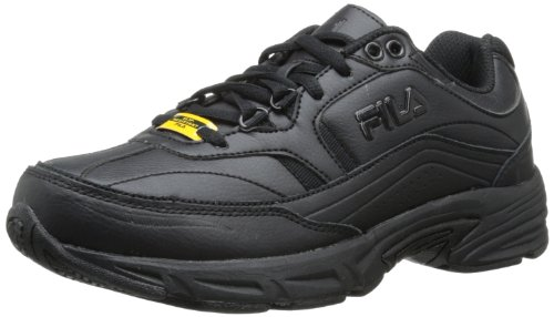 Fila Women's Memory Workshift Cross-Training Shoe,Black/Black/Black,7 M US image 1