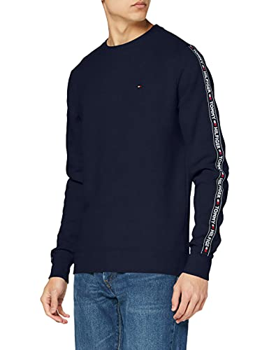 Tommy Hilfiger Men's Track Sweatshirt, Blue, L image 1