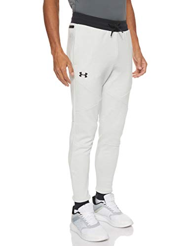 Mens Under Armour Unstoppable Double Knit Joggers In Grey