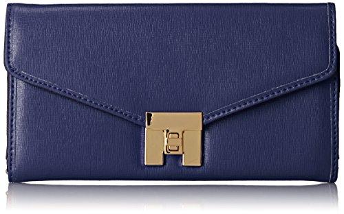 Tommy Hilfiger Turnlock 3 Wallet, Cobalt, One Size image 1