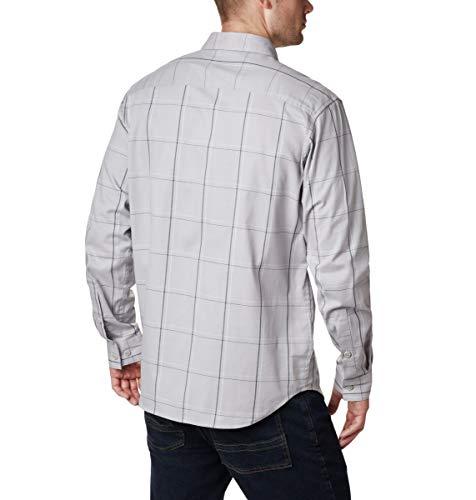 Columbia Men's Tall Size Vapor Ridge III Long Sleeve Shirt, Grey Large Grid, 3XT image https://images.buyr.com/OV18L7E_25A7356ED78A891A7B9476FC3CD04565AC7345D0BB256AB3AE61F53C59D92AAC-0m3DGCwVVFKYfOAYWQ-rEw.jpg1