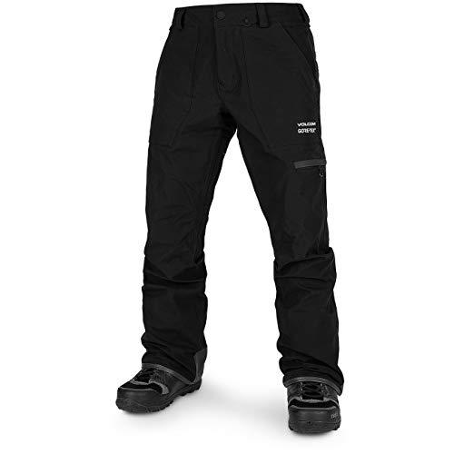 Volcom Men's Stretch 2 Layer Gore-tex Snow Pant, Black, Small image 1