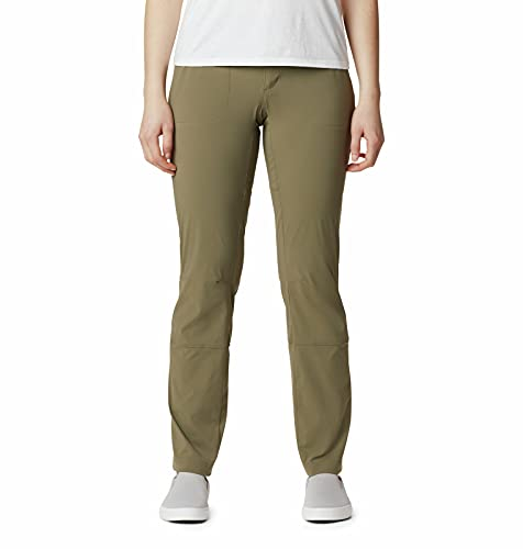 Columbia Women's Saturday Trail Pant, Water & Stain Resistant Stone Green, 16 Long - Plus image 1