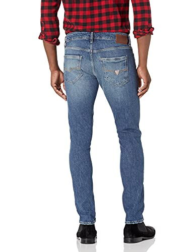 GUESS mens Ripped Skinny Fit Skinny Leg Jeans, Rugged Blue, 31W x 32L US image https://images.buyr.com/OV18L7E_27E164B180E6EB97B1881601D258DC8249321A44F03367C12BA67BD32EEF2ECE-xzI6zwRwDZIUQVFMek7Fow.jpg1
