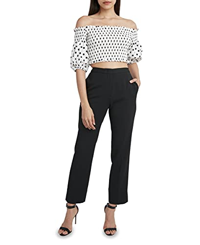 BCBGMAXAZRIA Women's Cropped Top with Off The Shoulder Poof Sleeves, Off White Combo, Small image https://images.buyr.com/OV18L7E_2E71B4AC50E3B4CC50D1480AA3209C80EFB721C7F7ED326E1B21B464E14D0877-nnKOKXG3ZBGQURA2DvkVwg.jpg1