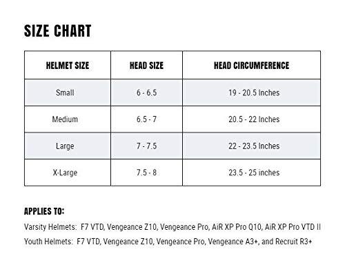 Schutt Vengeance Pro Adult Football Helmet with Facemask image 3