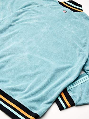 Champion Men's Terry Warm Up Jacket, Eucalyptus Green, Medium image https://images.buyr.com/OV18L7E_31775CEB21FD7BAFC50BB98B6B71804AC7D8455655B9B312AFE9929C8B812E71-kaHJpY2wL090mc05xHDjTA.jpg1