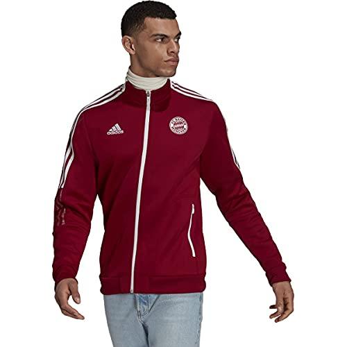 adidas FC Bayern 2021-22 Tiro Anthem Jacket (Craft Red, X-Large) image 1