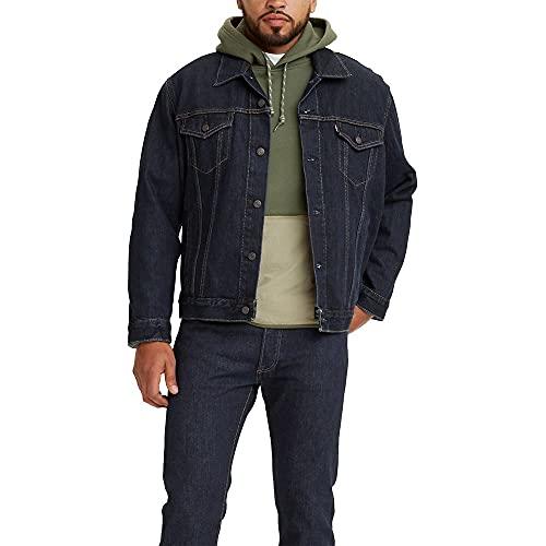Levi's Men's The Trucker Jacket, Rinse, Small image 1