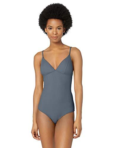 Medium Rip Curl Juniors Premium Surf One Piece Swim Suit Bikini Slate Blue