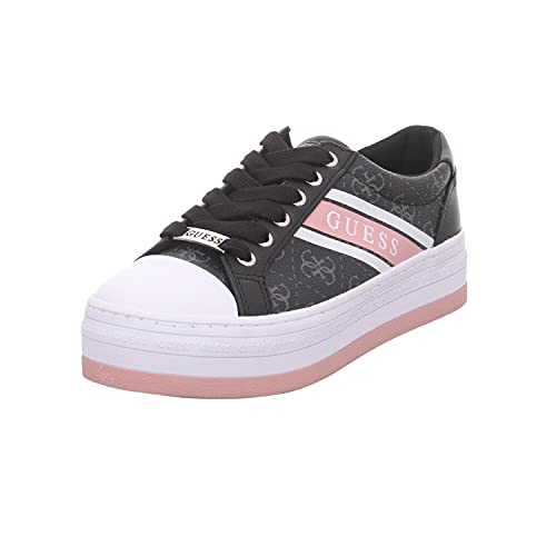 GUESS Barona Womens Black/White/Pink Trainers-UK 5 / EU 38 image https://images.buyr.com/OV18L7E_36388AB226766EF29C82692E9528C833A943AB8C6A41F1F84A308823DFD336B2-jAYZfkdy28NJ1NHldnbY1Q.jpg1