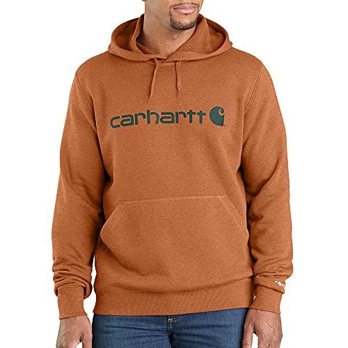 Carhartt Men's Force Delmont Signature Graphic Hooded Sweatshirt image 1