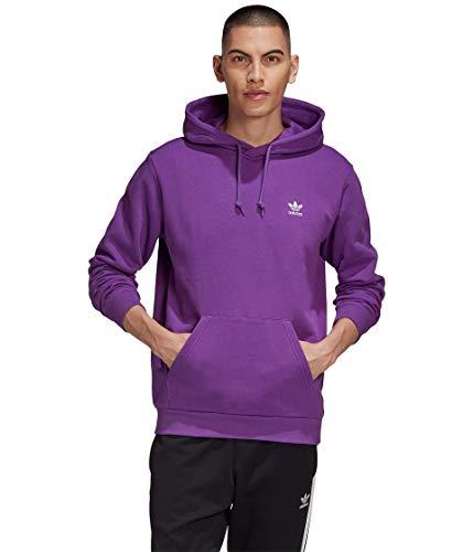 adidas Originals Essentials Hoodie Active Purple LG image 1