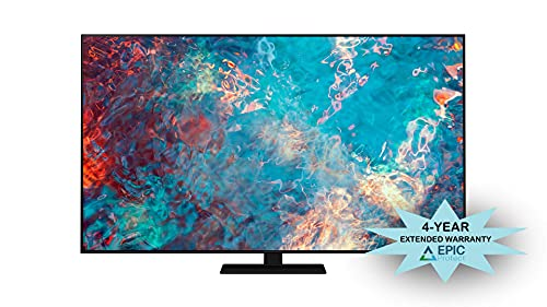 """Samsung QN85QN85AA 85"""" QN85AA Series Neo QLED 4K UHD Smart TV with an Additional 4 Year Coverage by Epic Protect (2021) image https://images.buyr.com/OV18L7E_43356BB9FD6993203927690BF31FDED872C3C61AEAB05473F27AA3C59625D3D0-GYtb7FaR1xgS6nWJoJKXzA.jpg1"""