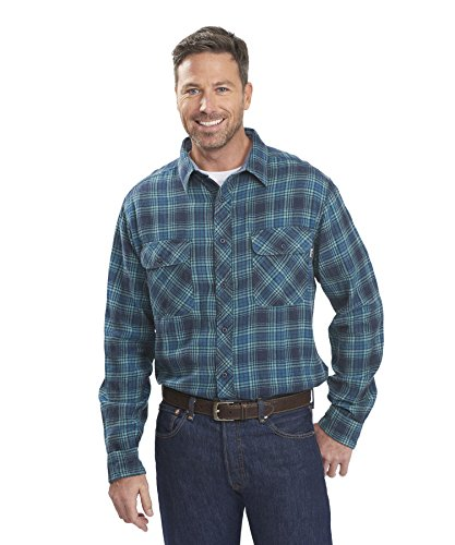 Woolrich Miners Wash Flannel Long Sleeve Shirt - Men39;s image 1