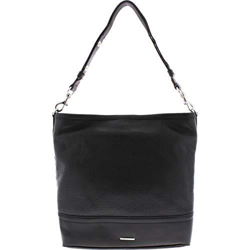 Rebecca Minkoff Womens Blythe Leather Studded Hobo Handbag image 1