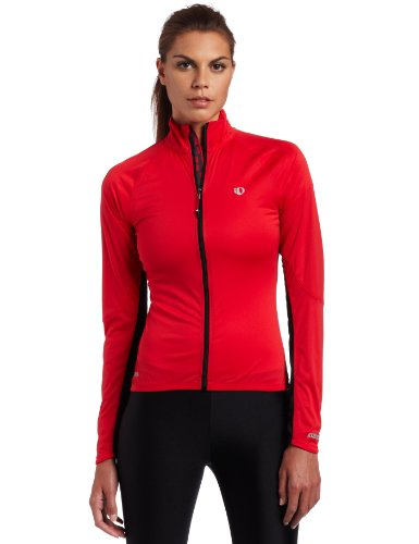 PEARL IZUMI Women's Pro Aero Jacket, X-Small, True Red/Black image 1