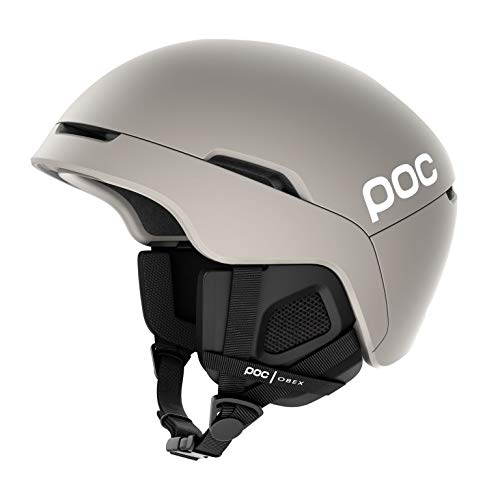 POC, Obex Spin Snowboard and Ski Helmet for Resort and Backcountry Riding, Breathable and Adjustable, Rhodium Beige, X-Small/Small image 1