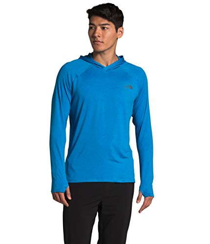 The North Face Men's Hyperlayer FD Hoodie, Clear Lake Blue Heather, S image 1