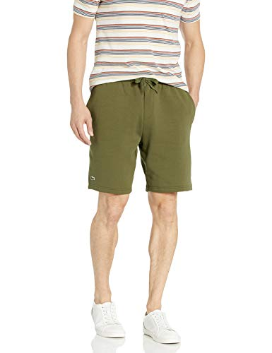 Lacoste Men's Sport 9'' Fleece Short, Bush el, XXL image 1