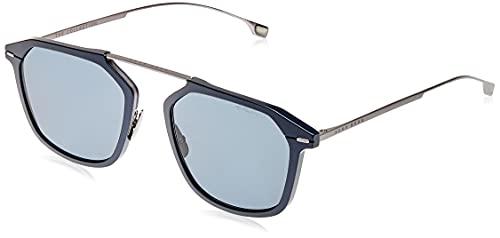 Hugo Boss BOSS 1134/S MATTE BLUE/GREY 55/21/145 Sunglasses for Men image 1