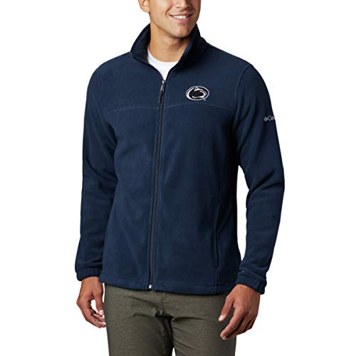 NCAA Penn State Nittany Lions Men's Flanker III Fleece Jacket, Small, PSU - Navy image 1