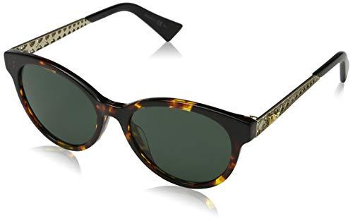 Dior Diorama 7S 02IKQT Havana Gold Oval Sunglasses image 1