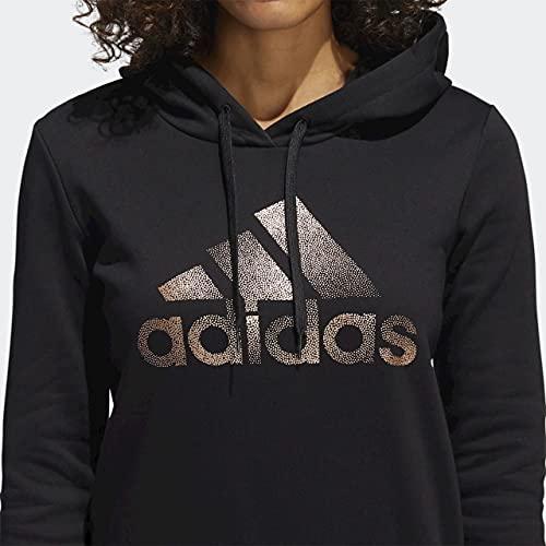 adidas Women's Badge of Sport Overhead Fleece Hoodie (Core-Black / Black, Medium) image https://images.buyr.com/OV18L7E_5C6FF5F093E2AA9C5D2DBEA5C969CFF80FC26EDD13D10E2ABF95B58EF7BE3F6E-C3Dc7rRsFGNSMhvjzBVMVw.jpg1