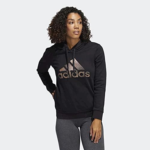 adidas Women's Badge of Sport Overhead Fleece Hoodie (Core-Black / Black, Medium) image https://images.buyr.com/OV18L7E_5C6FF5F093E2AA9C5D2DBEA5C969CFF80FC26EDD13D10E2ABF95B58EF7BE3F6E-OfXkUruW3L7FEen8rFyxRQ.jpg1