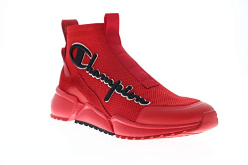 Champion RF Mid Mens Lace Up High Top Shoes 10 RED image 1