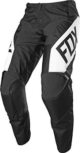 Fox Racing Men's 180 REVN Motocross Pant, Black/White, 30 image 1