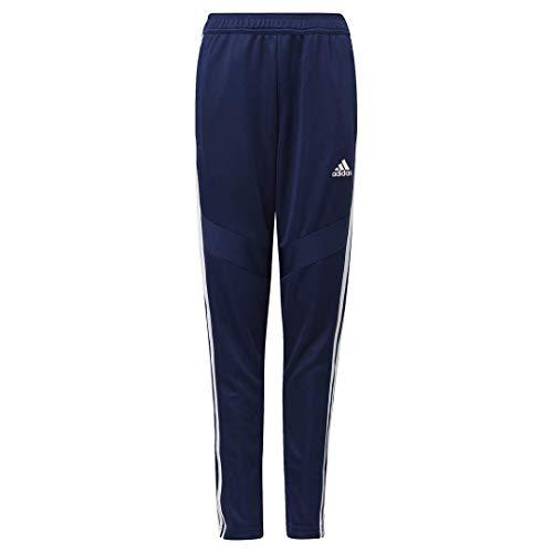 adidas Kids' Tiro 19 Pants, Dark Blue/White, M image 1