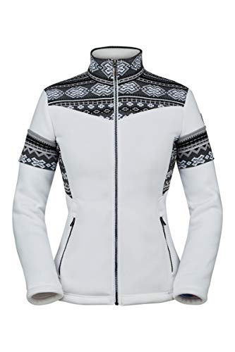 Spyder Active Sports Womens Bella Full Zip, White, X-Large image 1