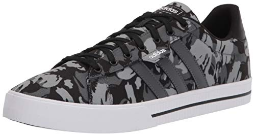 adidas mens Daily 3.0 Skate Shoe, Black/Grey/White, 7.5 US image 1