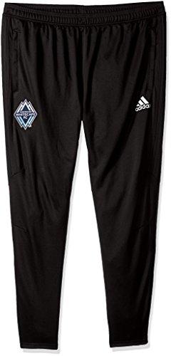 MLS Vancouver Whitecaps Adult Men Authentic Sideline Training Pant,Medium,black image 1