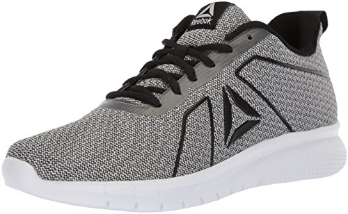 Reebok Women's Instalite PRO Sneaker, HTHR - Black/White/ash Grey, 10 M US image 1