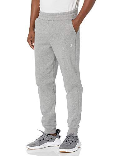 Champion Authentic Originals Men's Sueded Fleece Jogger Sweatpants, Oxford Gray, XXX-Large image 1