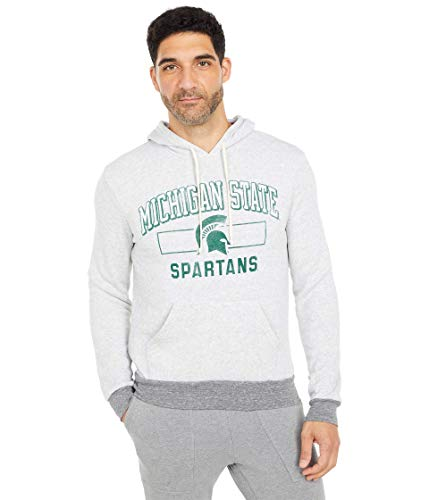 Champion College Michigan State Spartans Challenger Hoodie Eco Oatmeal SM image 1