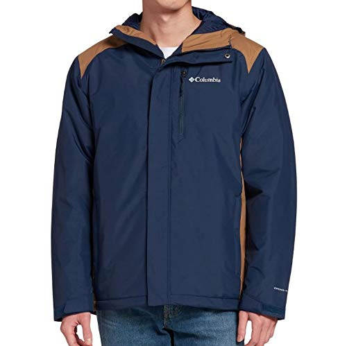 Columbia Men's Tipton Peak Insulated Jacket, Bluestone/Collegiate Navy, Large image 1