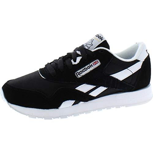 Reebok Women's Nylon Sneaker, Classic Black/White, 6 image 1