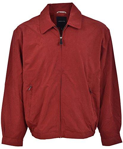 London Fog Men's Auburn Zip-Front Golf Jacket (Regular & Big Sizes), scarlet, 2X-Large Tall image 1