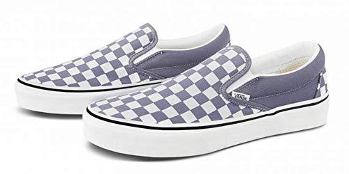 Vans Men's Classic Slip On, (Checkerboard) Blue Granite/True White, Size 7.5 image https://images.buyr.com/OV18L7E_74664C0E54506FDBC0200409DE610BC2110389FFDA2E401B23D97CF159F3946A-cQaDR20RK3jsfZOOJ10bmw.jpg1