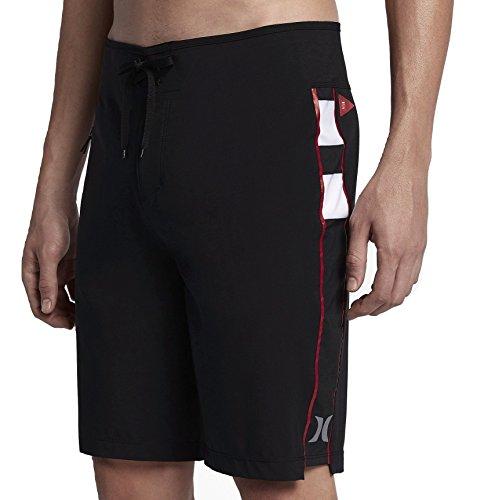 Hurley Mens Phantom JJF Iv Elite Boardshorts, Size: 29, Color: Black image 1