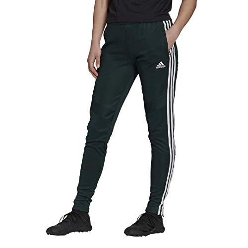 adidas Women's Tiro 19 Training Pants; Green Night/White;XL image 1