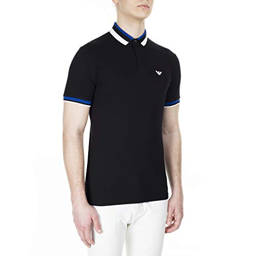 Emporio Armani Men's Polo, XL Black image https://images.buyr.com/OV18L7E_77B84E210DEBF8F559CAC098D47E184C0E5715CDAD39EC63712D7C8CF9EEDF6A-2DCeyb3yZyTW5UezSu-rPw.jpg1