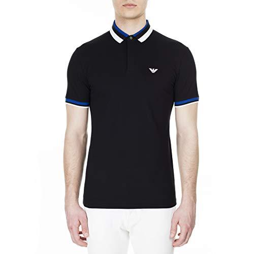 Emporio Armani Men's Polo, XL Black image 1