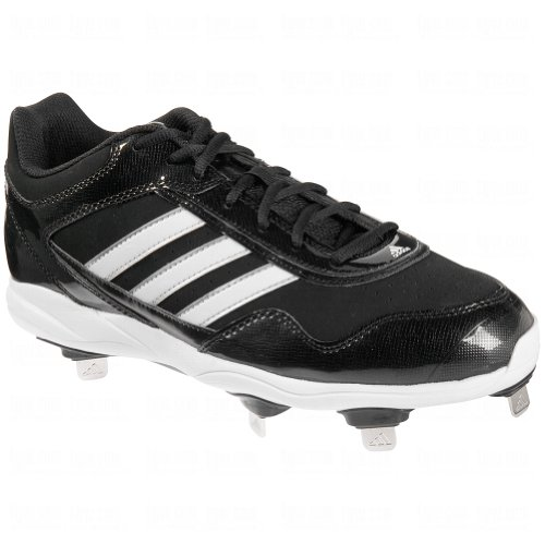 adidas New Men's Excelsior Pro Metal Low Baseball Cleats Black/White 7.5 image 1