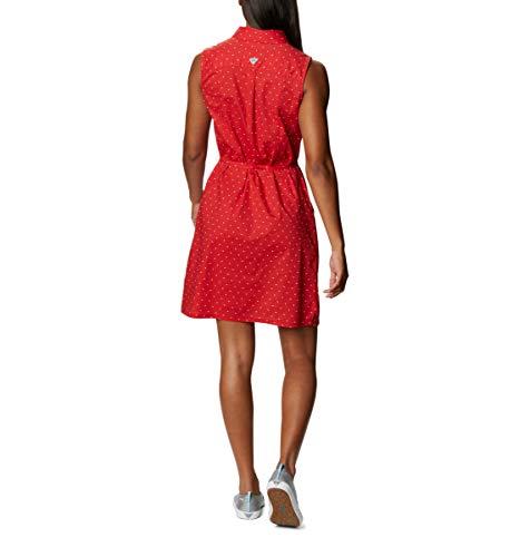 Columbia Women's Bonehead Stretch Sleeveless Dress, Red Spark Swiss Dot, XX-Large image https://images.buyr.com/OV18L7E_7B902C4E68E6DFBFC1C08D9277EAE1CDB7696086A1E539B5349A4DB34A77E349-0uT1lgJVpBEP1jAr7fIROA.jpg1